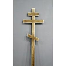 Крест деревянный  малый морилка 2,1 м