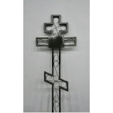 Крест металлический прямой 2,0 м