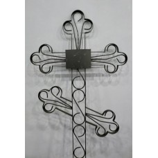 Крест металлический фигурный 1,9 м