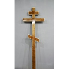 Крест деревянный прямой лак малый 2,1 м
