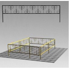 Ограда сварная №ГГ-СВ-04