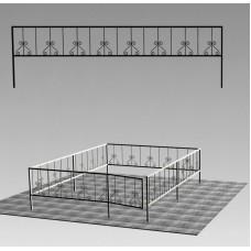 Ограда сварная №ГГ-СВ-06