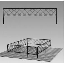 Ограда сварная №ГГ-СВ-07