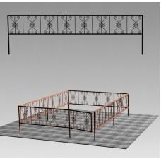 Ограда сварная №ГГ-СВ-08