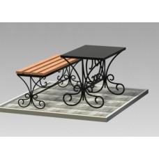 Комплект (скамья,стол) №ГГ-СТ-04