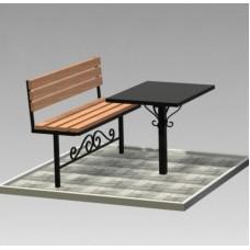 Комплект (скамья,стол) №ГГ-СТ-05