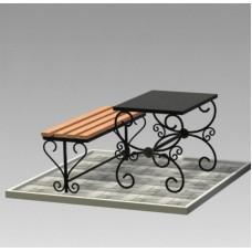 Комплект (скамья,стол) №ГГ-СТ-06