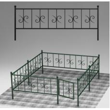 Ограда кованая №ГГ-ОГ-02