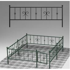 Ограда кованая №ГГ-ОГ-03