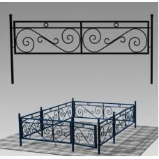 Ограда кованая №ГГ-ОГ-04