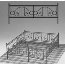 Ограда кованая №ГГ-ОГ-06