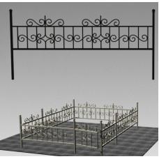 Ограда кованая №ГГ-ОГ-09