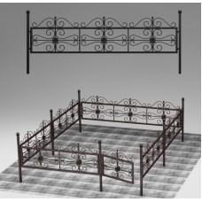Ограда кованая №ГГ-ОГ-12