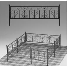 Ограда кованая №ГГ-ОГ-13